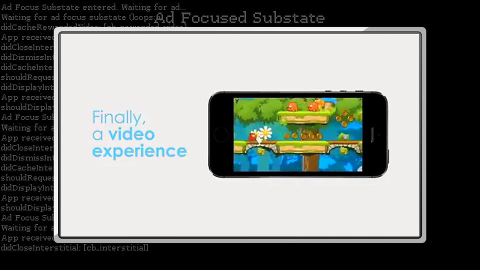 Screenshot of demo app