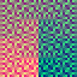 Moore plane + Serpentine cube