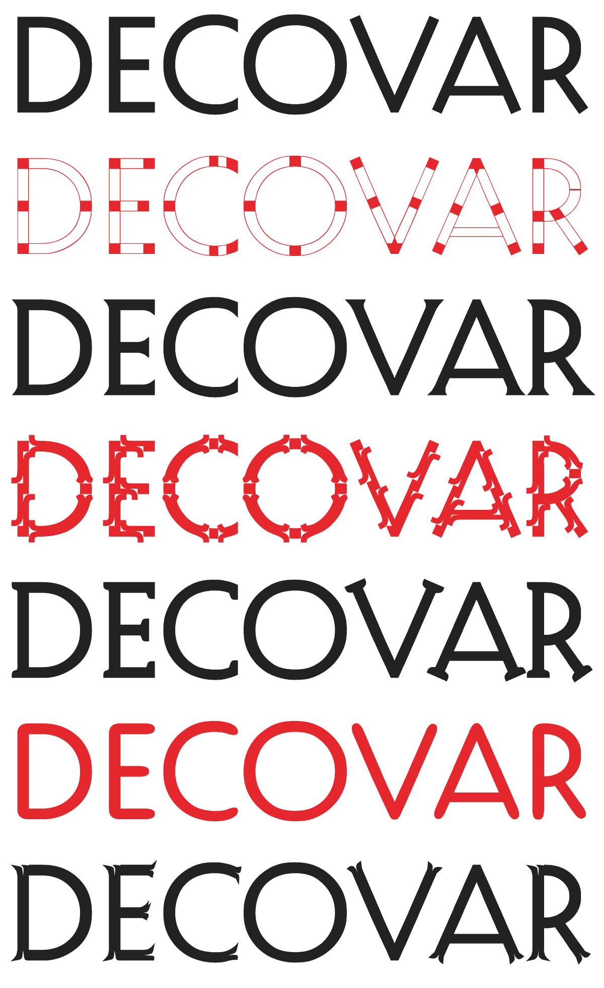 Examples of Decovar