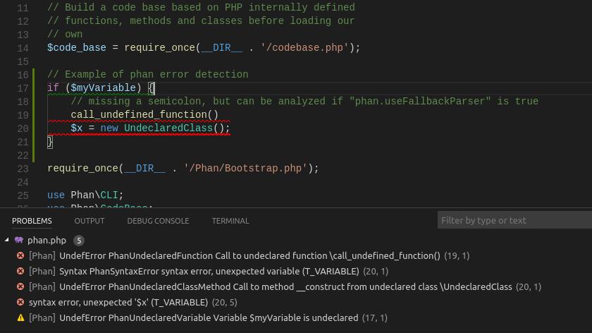 Phan error tolerant detection demo