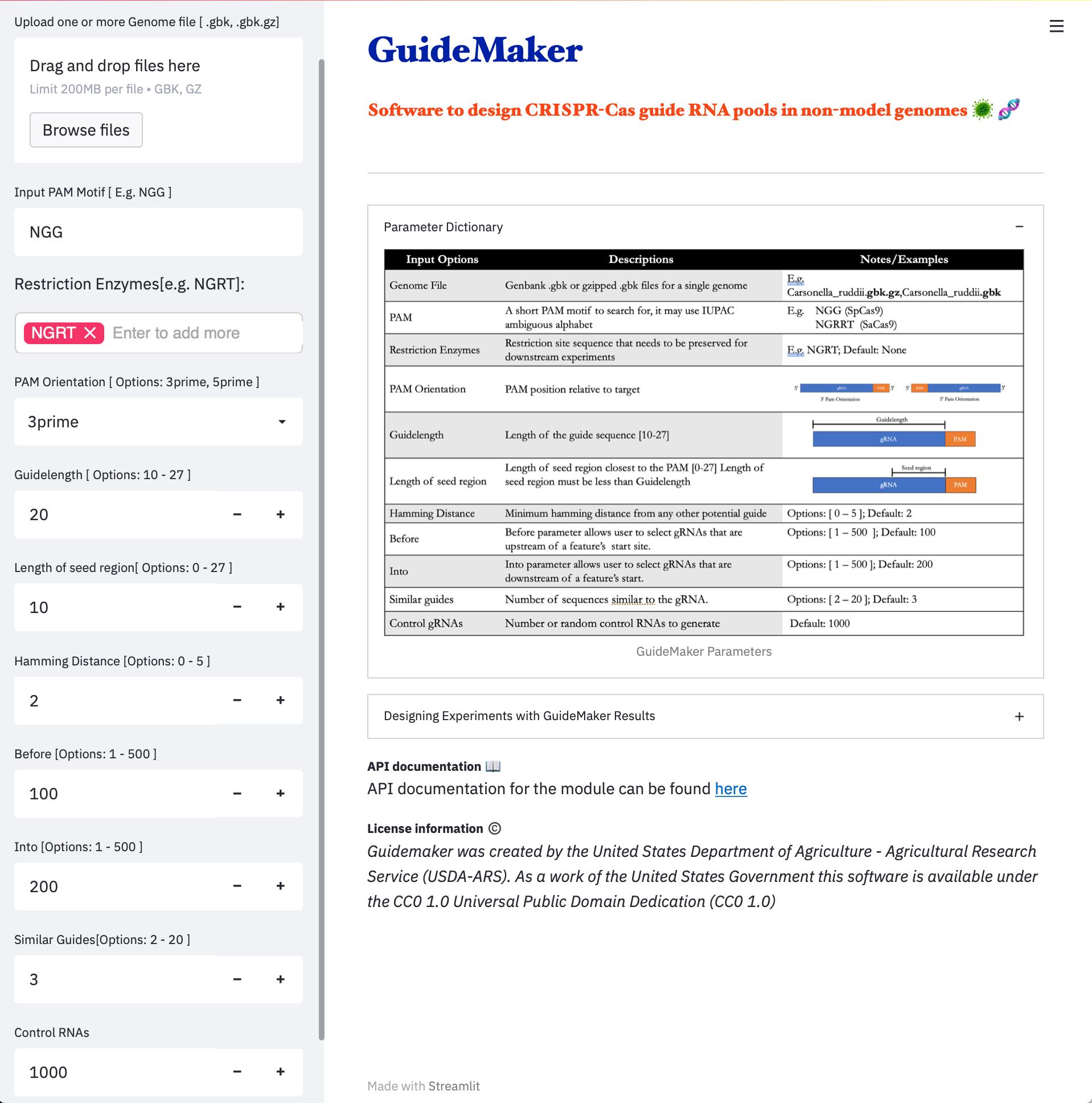 Image of GuideMaker Web App