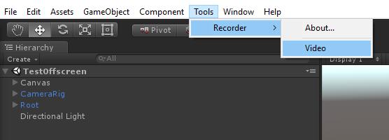 Generic Frame Recorder - UnityList