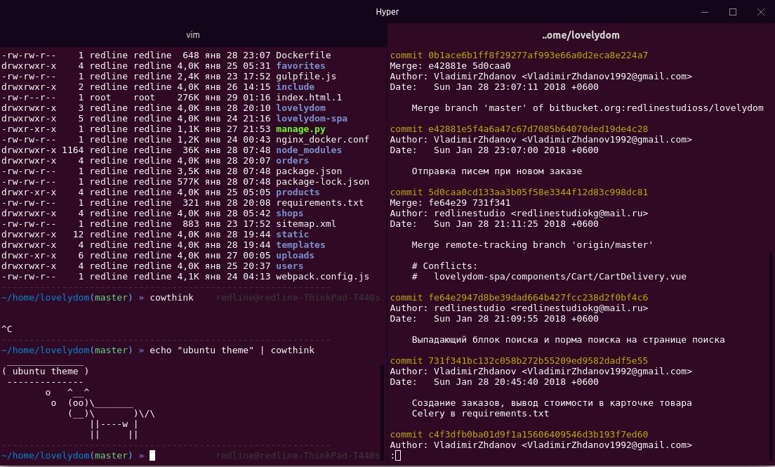 Hyper Ubuntu Theme