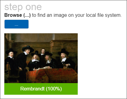 Classifying an image as a Rembrandt