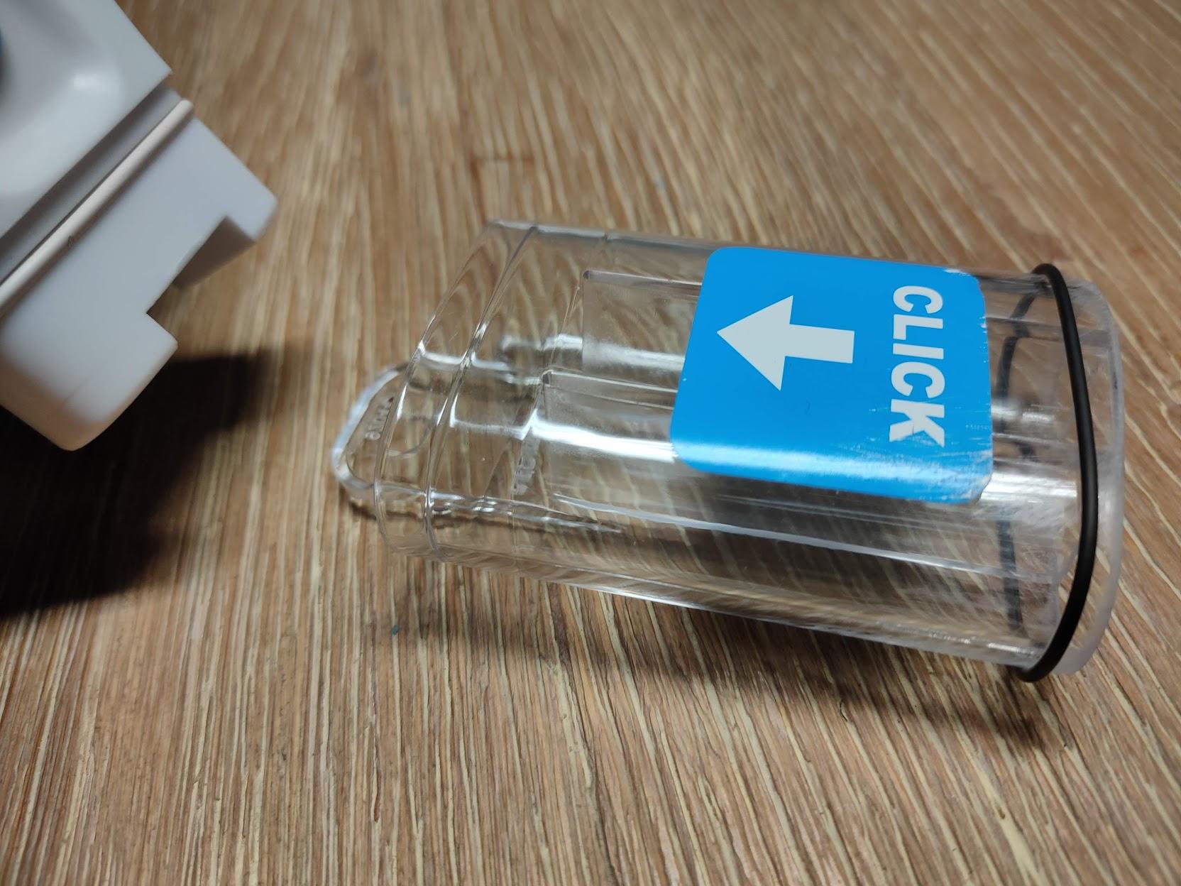 Detalle tubo mascara a conectarse con la pieza 3D