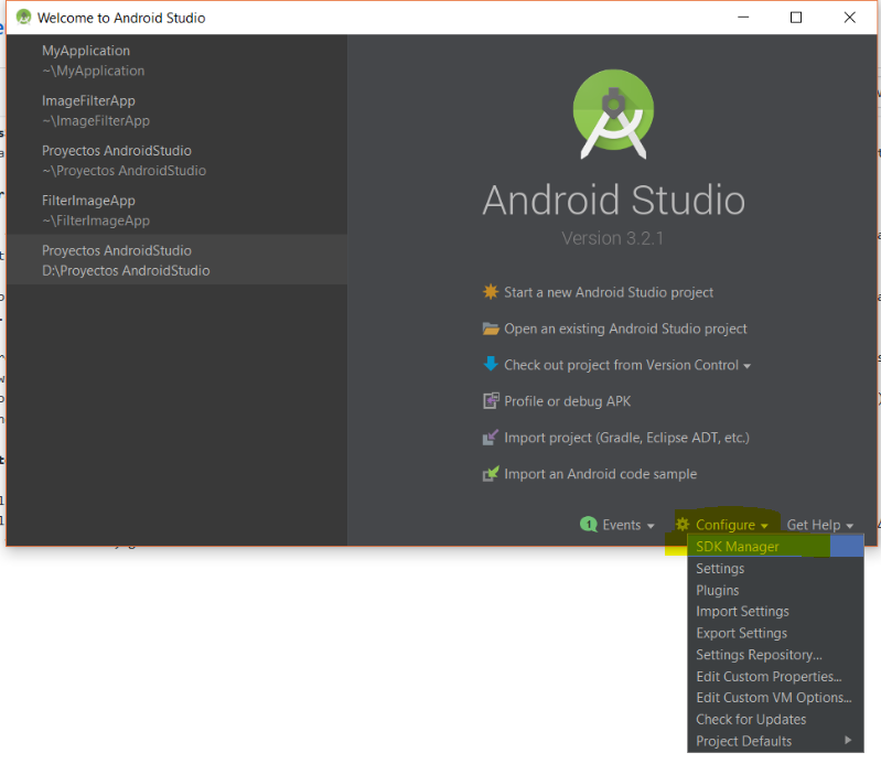 Android Configurations