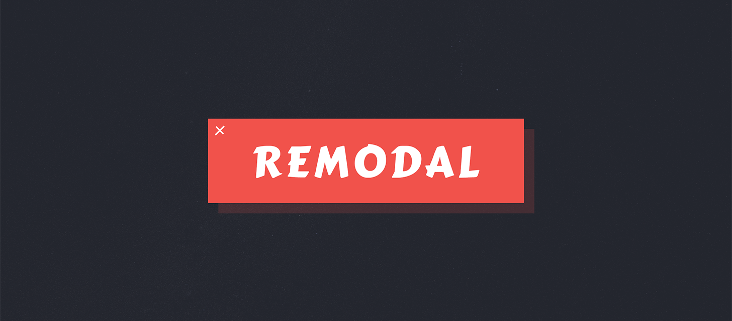 GitHub - vodkabears/Remodal: No longer actively maintained