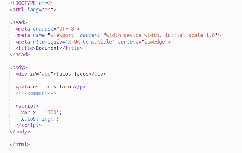 preview syntax html