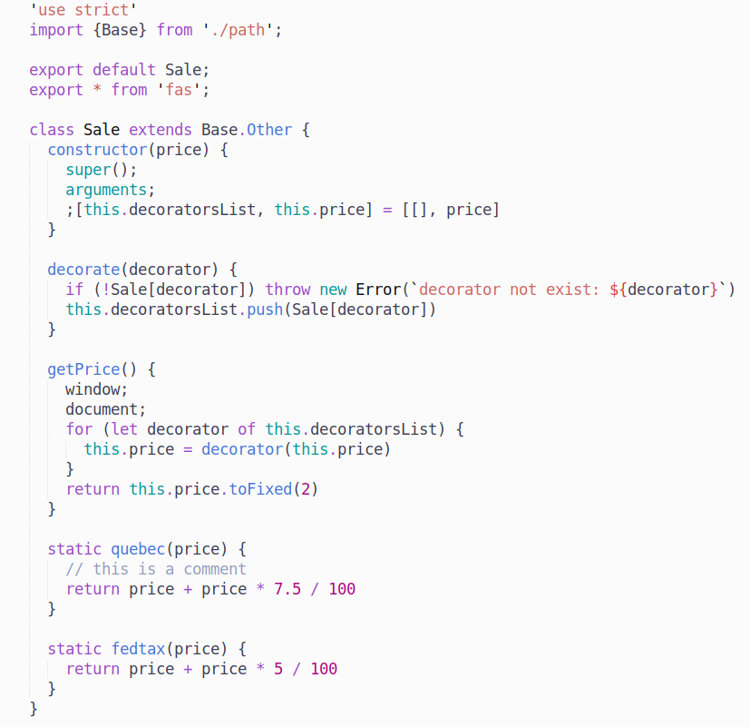 preview syntax javascript