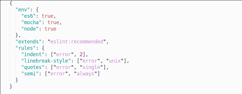 preview syntax json