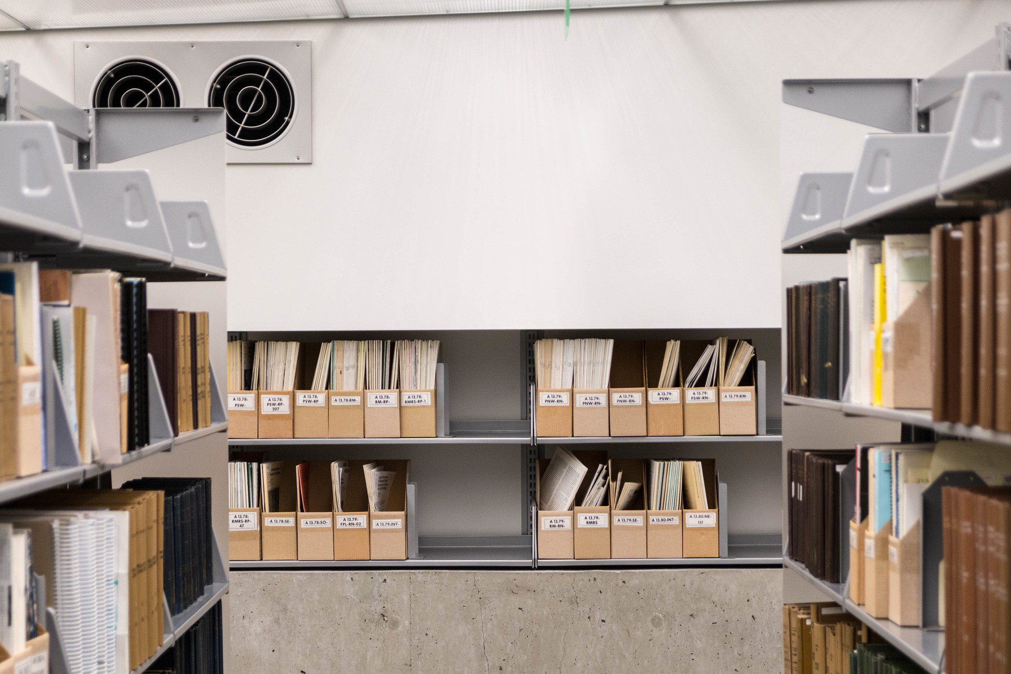Files on the shelf