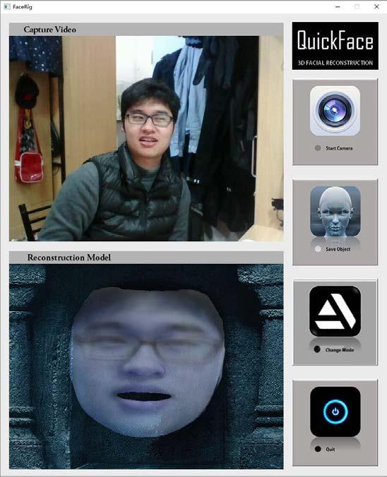 GitHub - WMBao/QuickFace: A real-time 3D human facial reconstruction