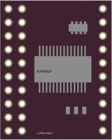 MCP23017 (CJMCU-2317 board) fritzing part