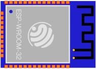 ESP32 chip fritzing parts.