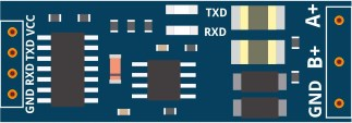 RS485 (XY-017 board) fritzing part