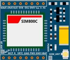 SIM800C board fritzing part