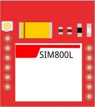SIM800L fritzing part
