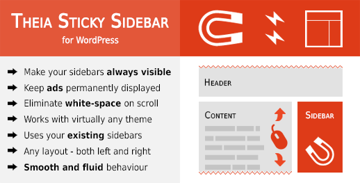 Theia Sticky Sidebar for WordPress