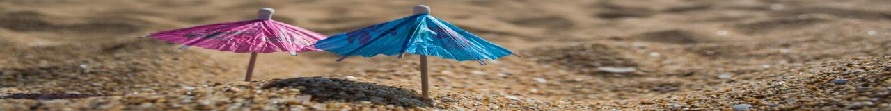 compressed umbrellas