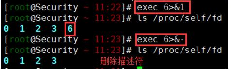 WeiyiGeek.删除文件描述符