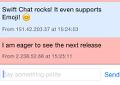 Swift Chat Demo