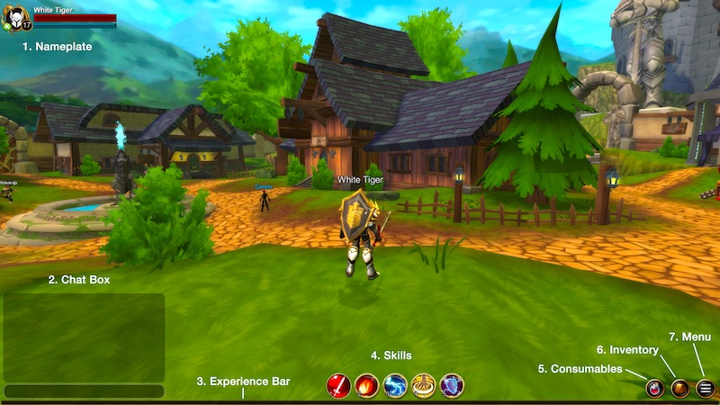 AQ3D= How to Play! Open Beta Guide