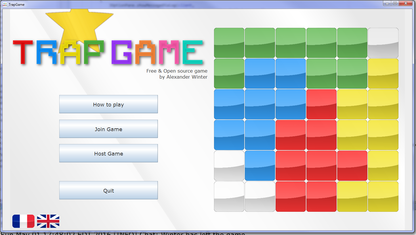 Trapgame multiplayer game with swingawt java gaming baditri Images
