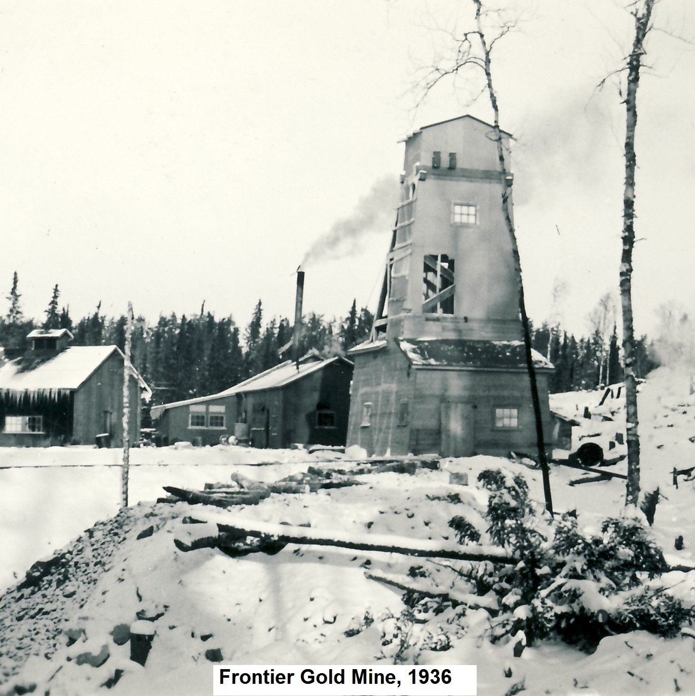 Frontier Gold Mine, Red Lake District - West