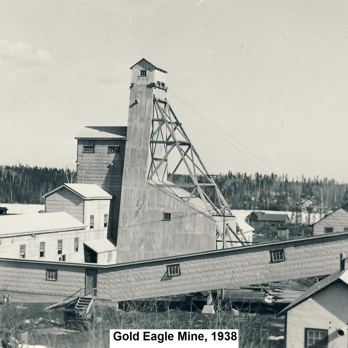 Gold Eagle Mine, Mckenzie Island