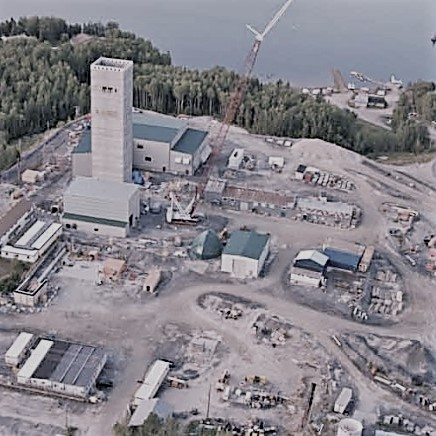 Goldcorp Gold Mine, Red Lake - Balmertown
