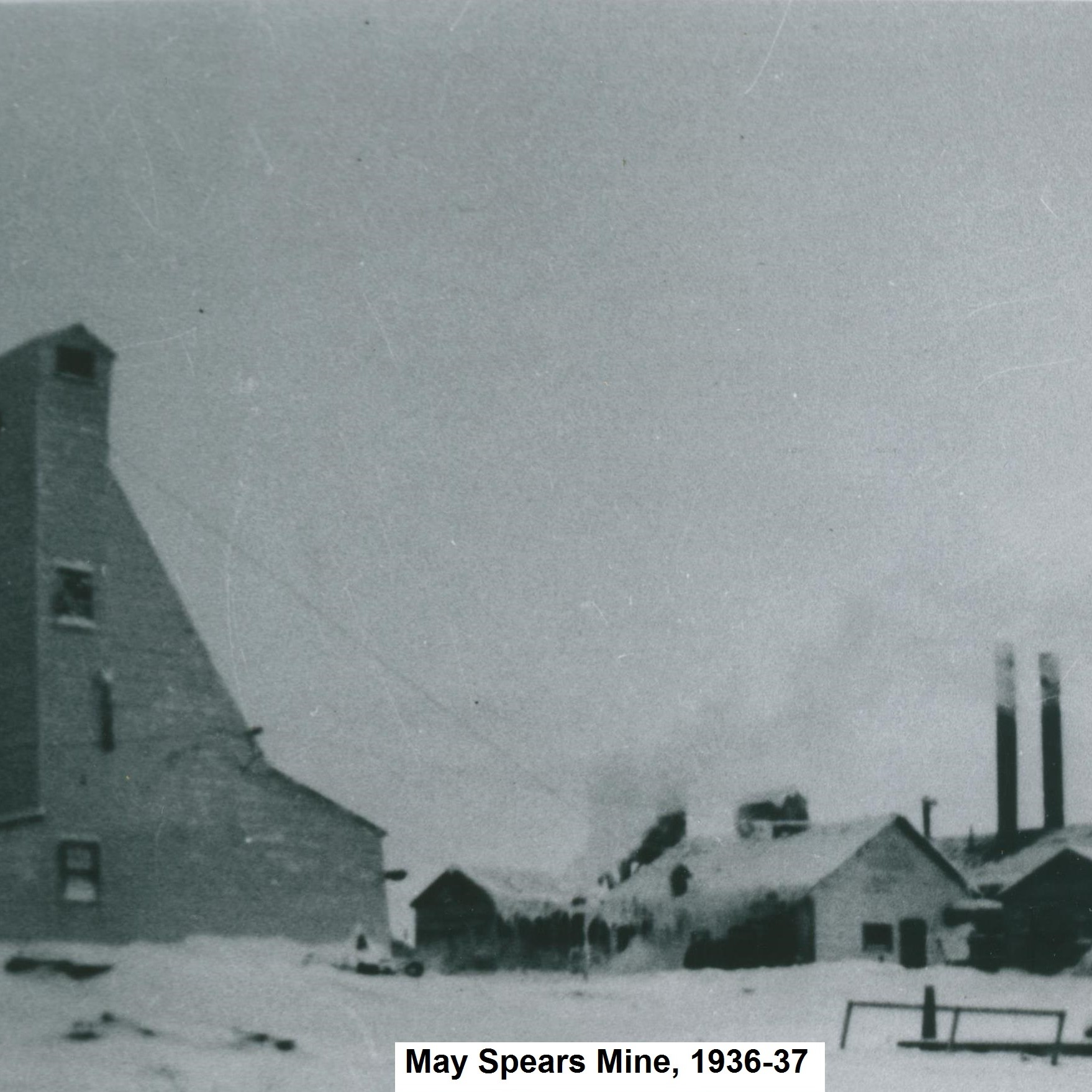 May-Spiers Mine, Red Lake District - West