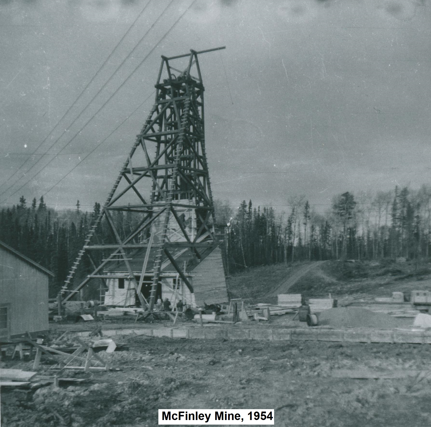 McFinley Mine, Mckenzie