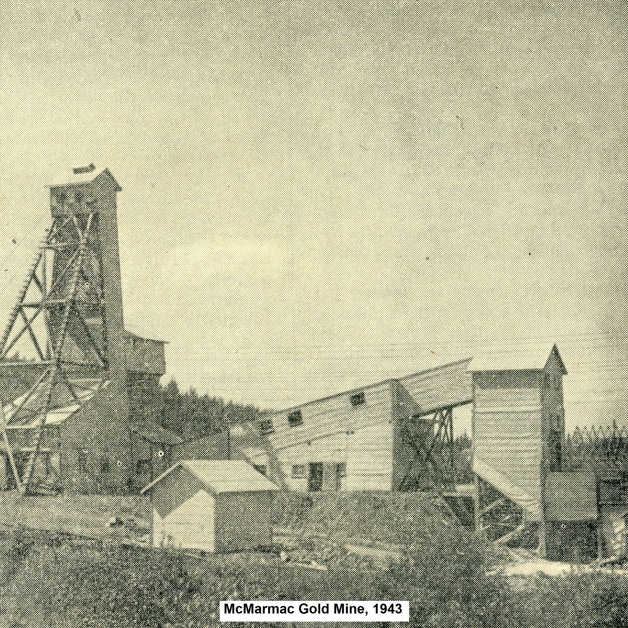 McMarmac Gold Mine, Red Lake - Cochenour
