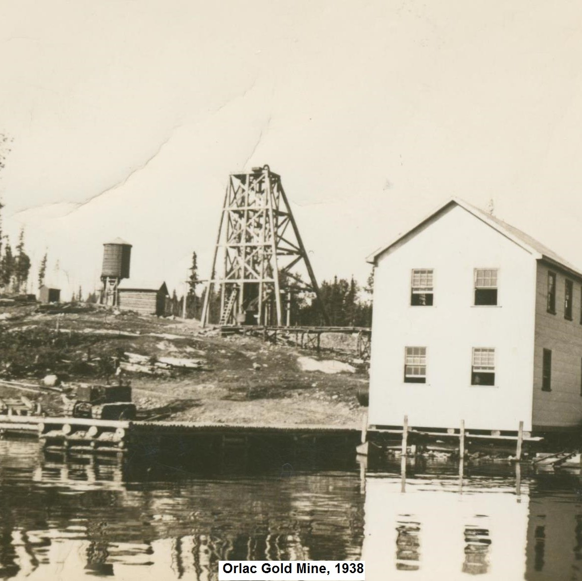 Orlac/Red Lake Mine, Red Lake