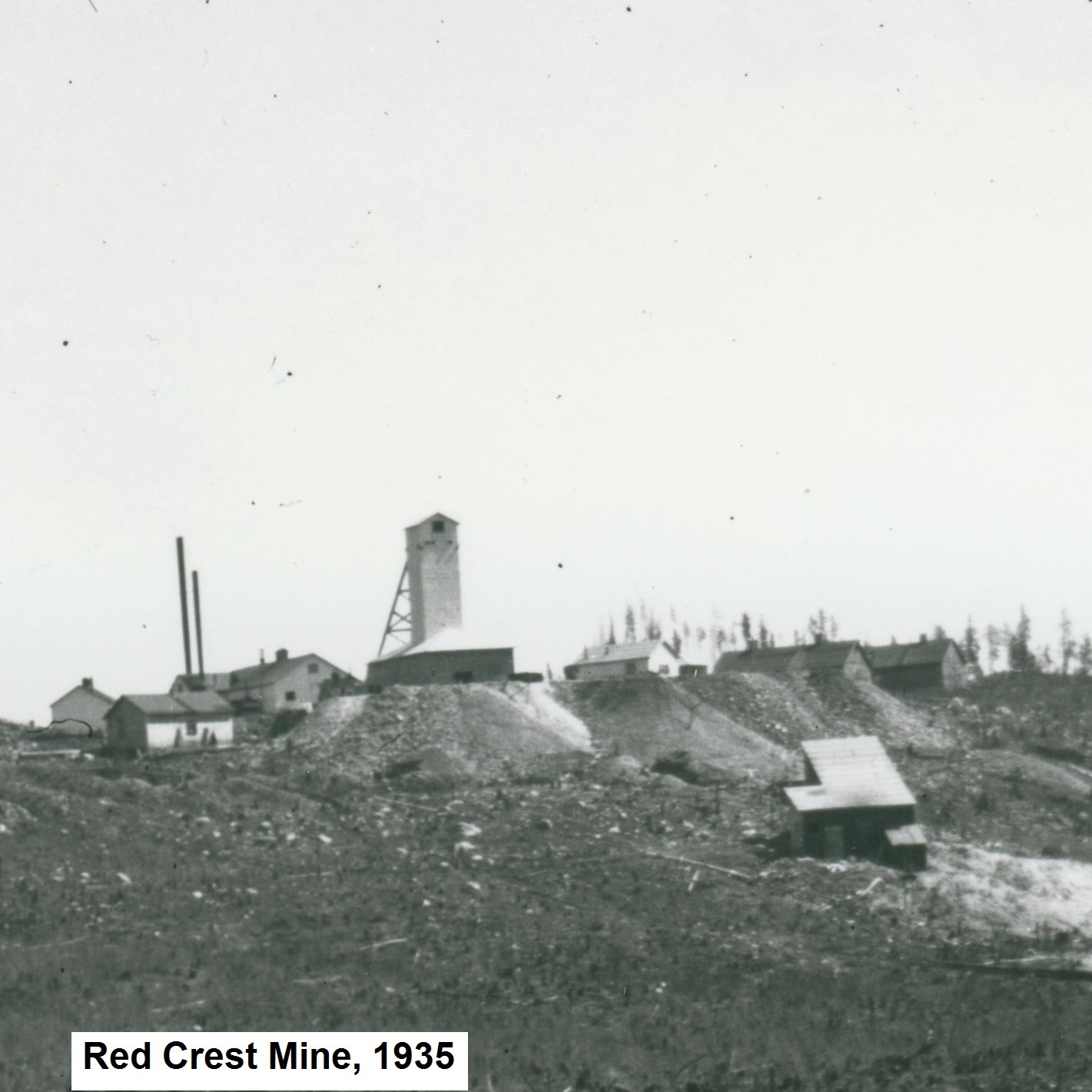 Red Crest Gold Mines, Red Lake District