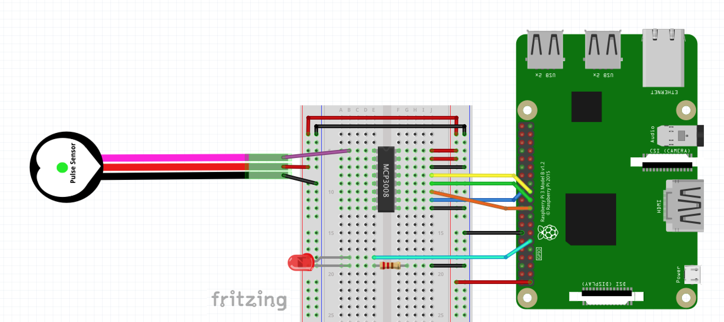 Fritzing Diagram