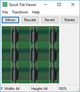 QuickTileViewer Screenshot
