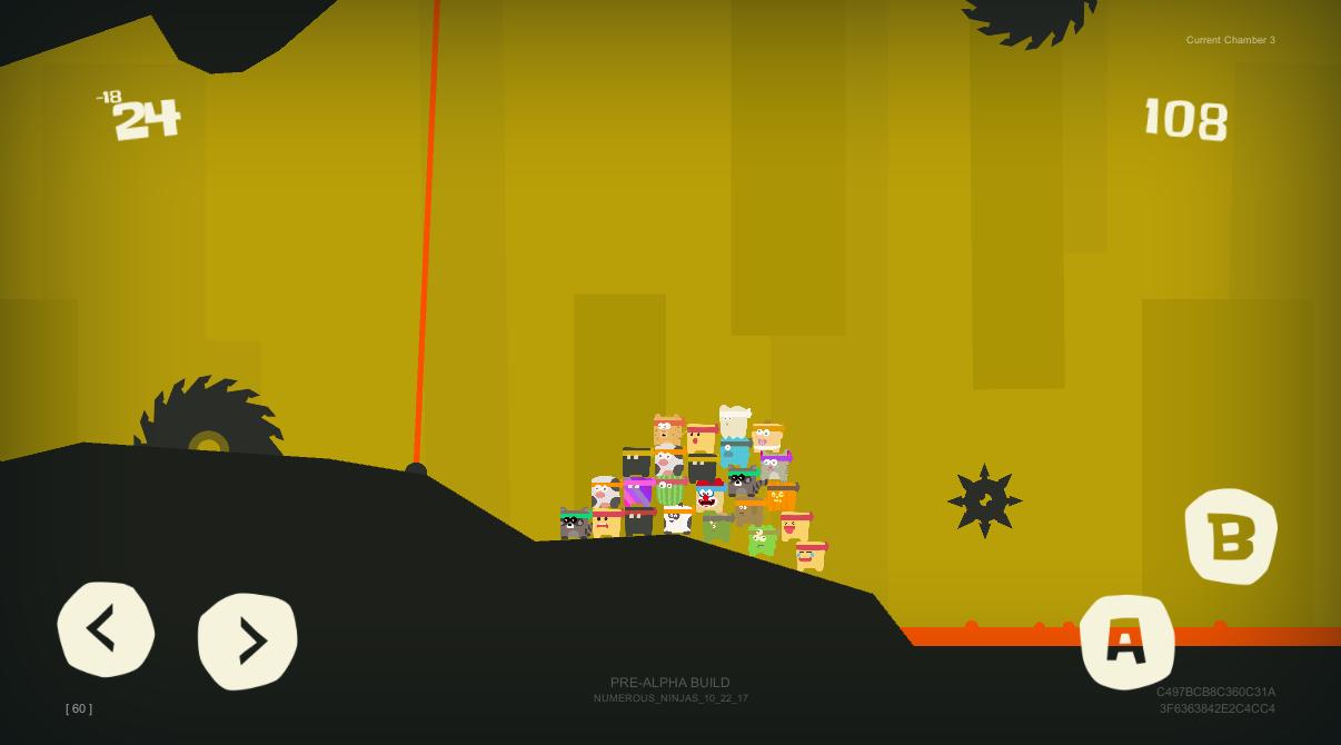 Numerous Ninjas Gameplay Screenshot