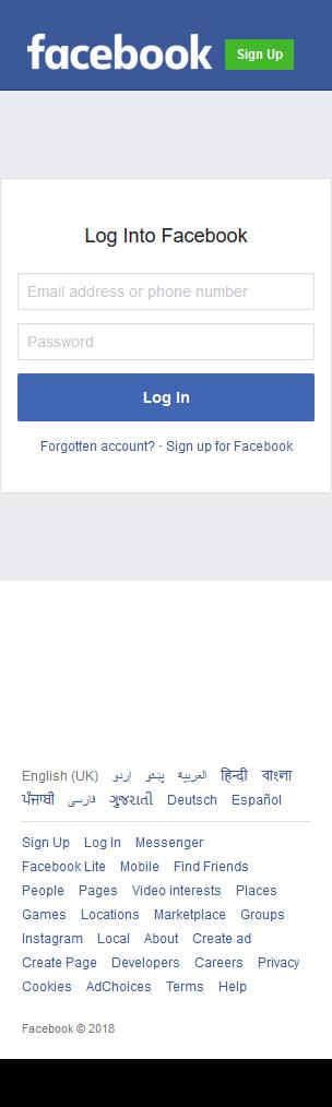 GitHub - Xuntron/Facebook-Responsive-Phishing-Page: A