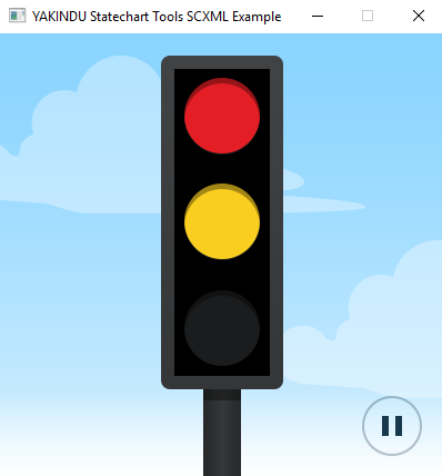 Traffic Light (SCXML) for QT