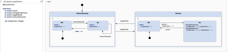 Third iteration, introducing variables