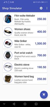 YenePay Shop Simulator Sample App