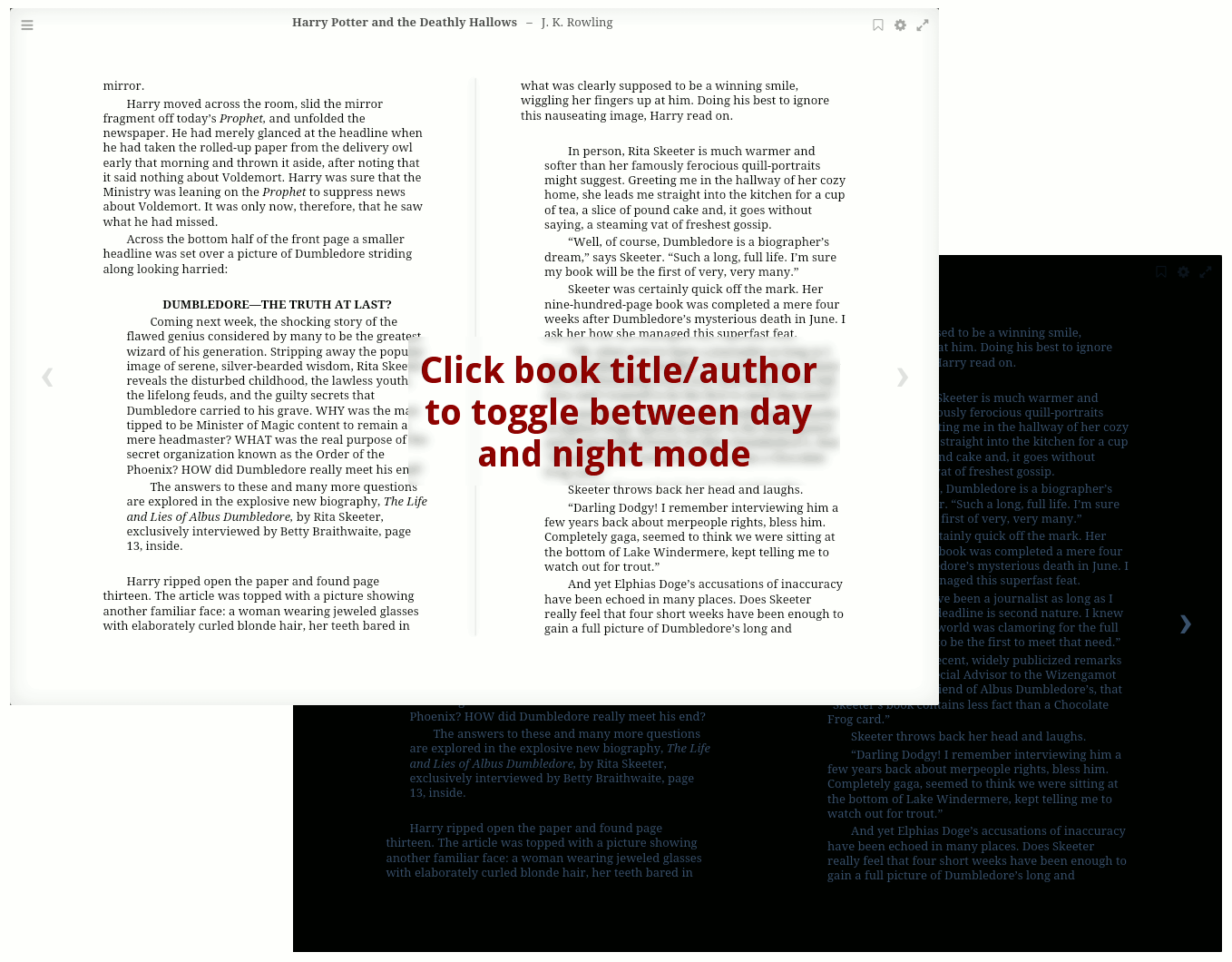 Reader (ebook reader) - Apps - App Store - Nextcloud
