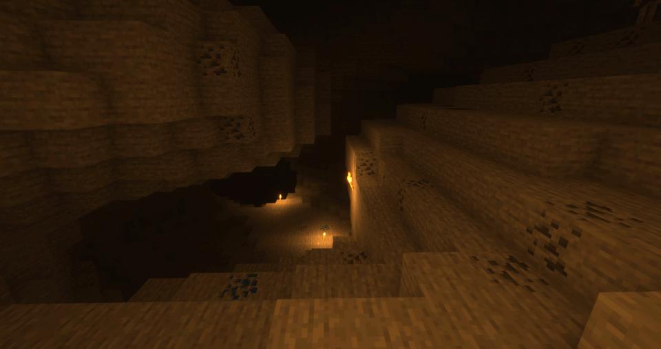 Upper caverns