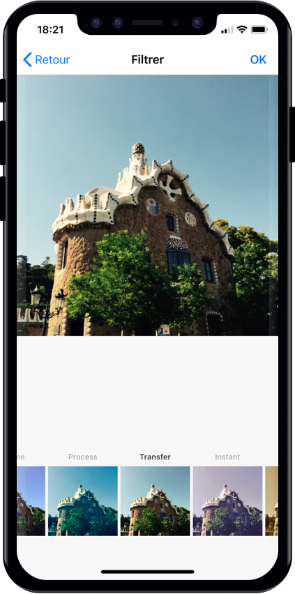 An instagram-like photo/video picker for iOS written in pure