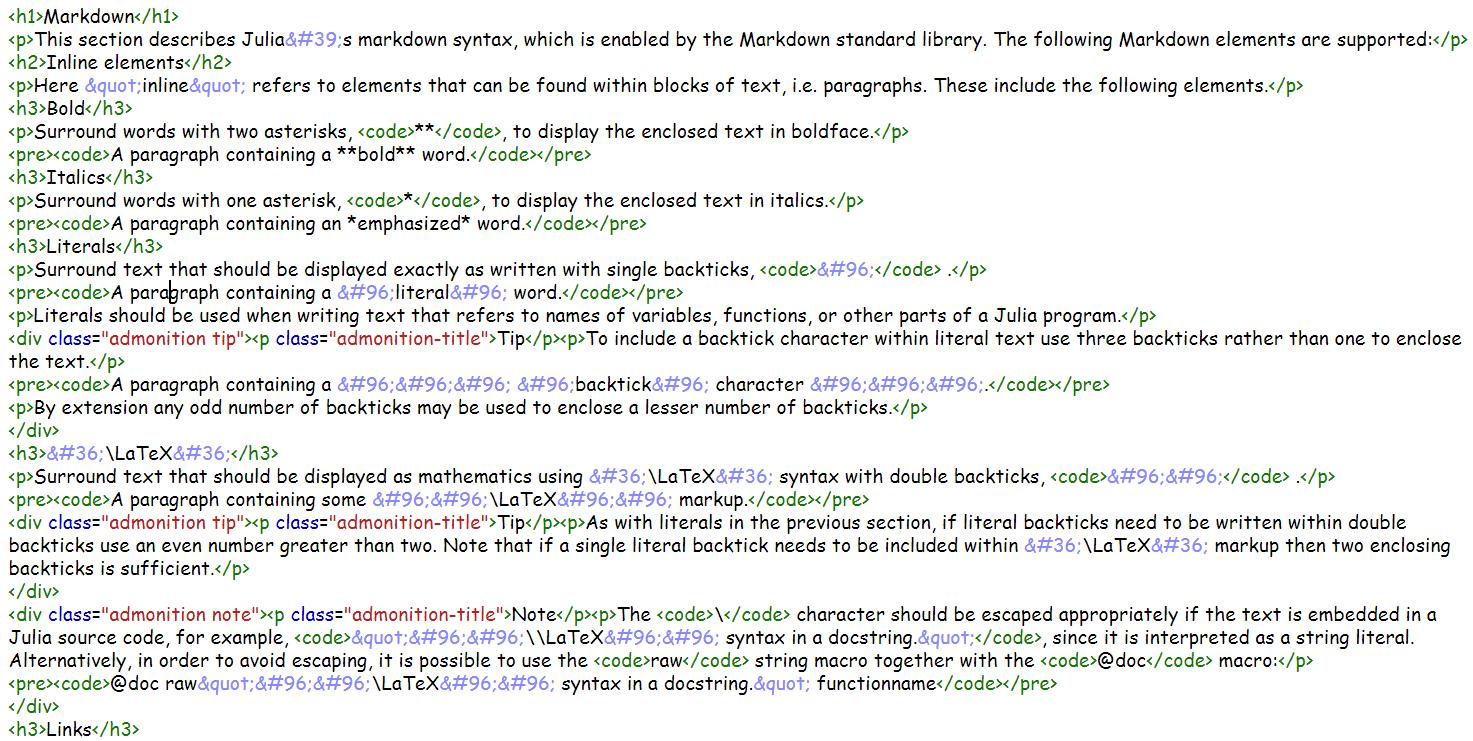 转化html