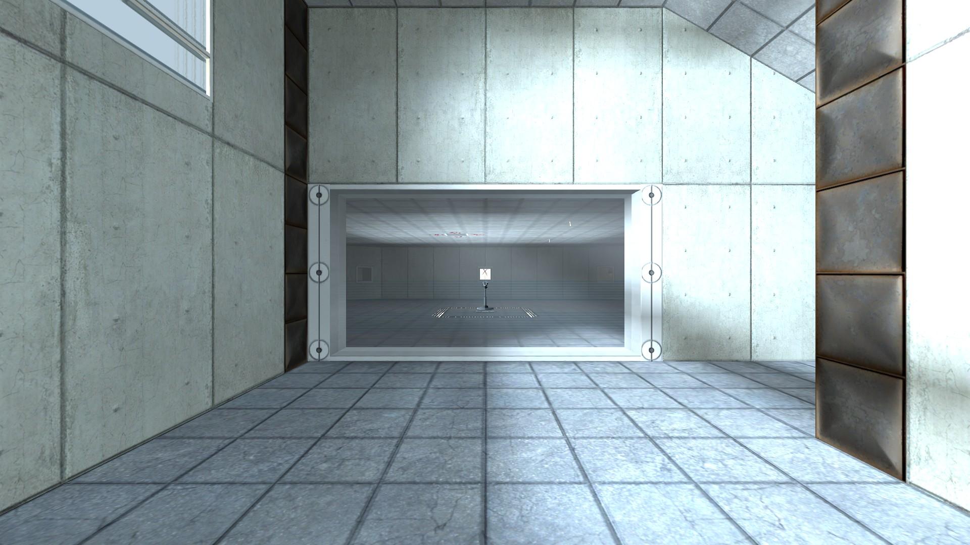 Entering chamber 2.