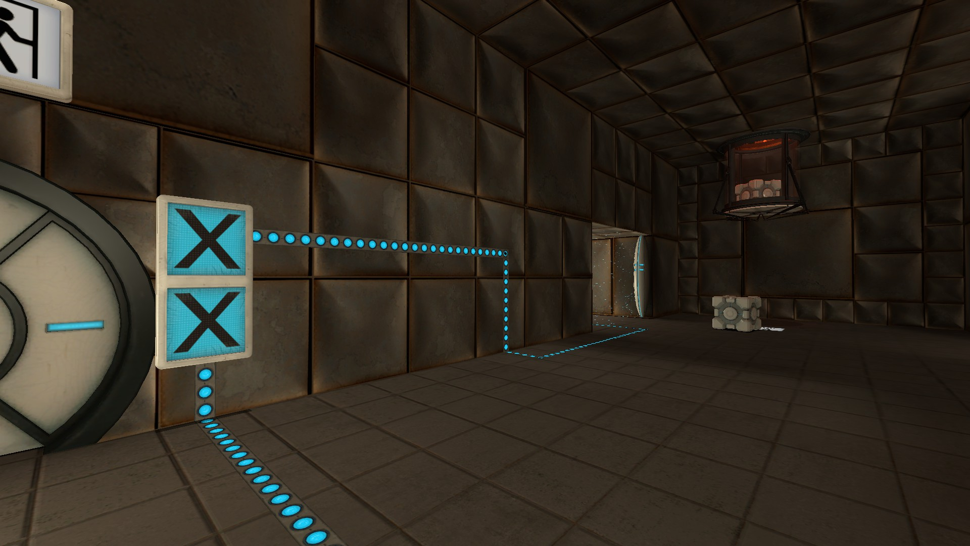 The impossible test chamber.