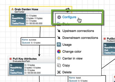 Configure Garden Hose