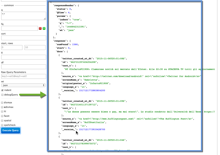Solr Query Results 1
